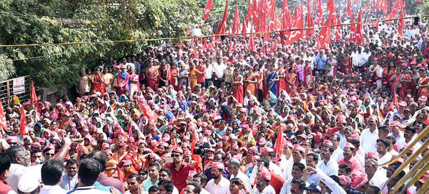 भारतीय शेतकरी कामगार पक्ष | लोकांनी लोकांसाठी चालवलेली चळवळ